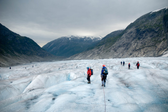 Tunsbergdalsbreen Expedition