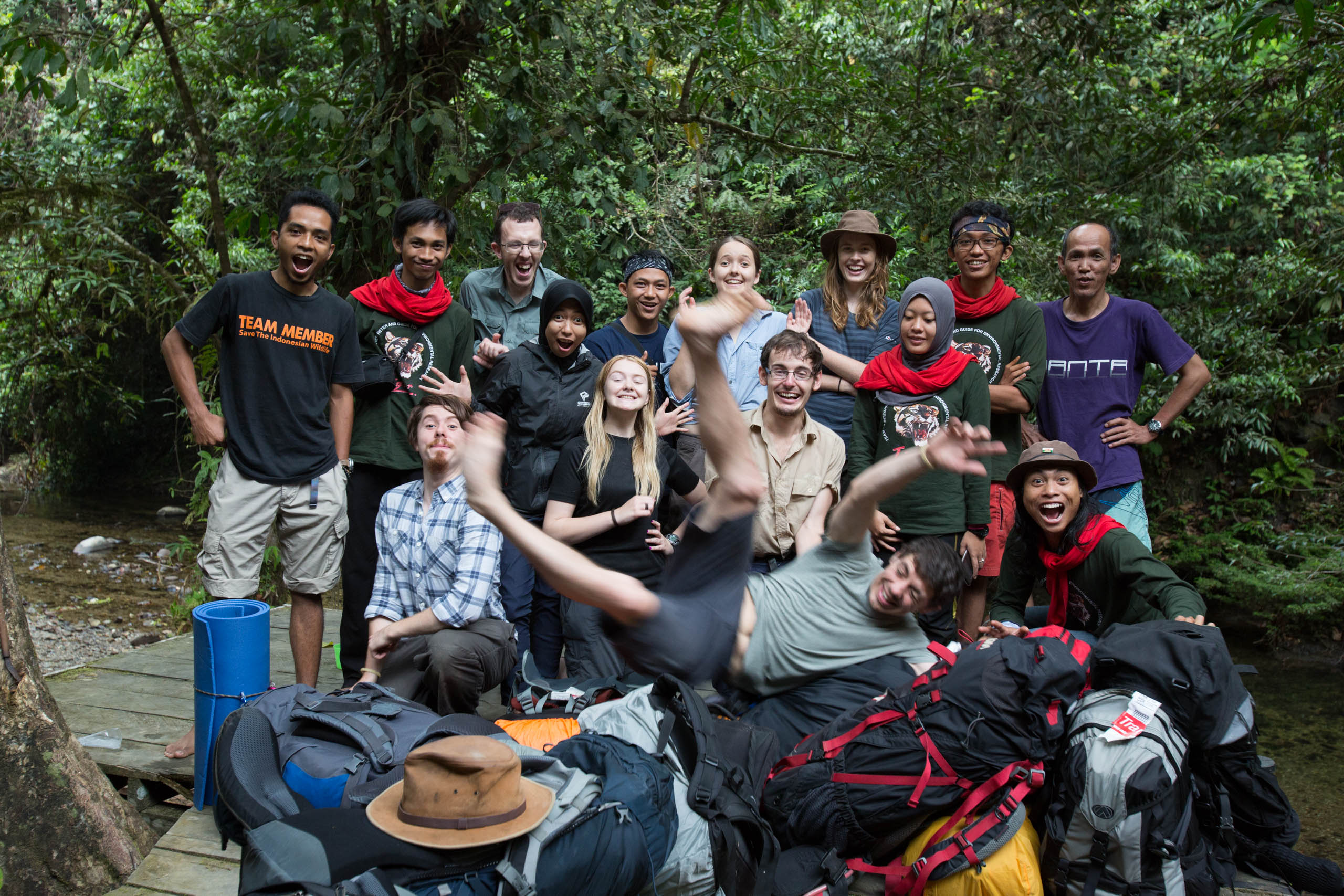 Borneo RAVE 2015 Team Photo
